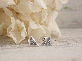 silver  薄氷のピアスSの画像