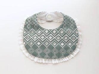 幾何学模様の刺繍スタイの画像
