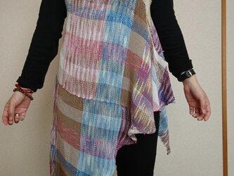 手織りチュニックの画像