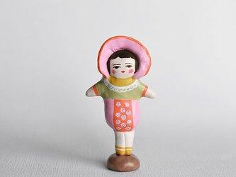 文化人形らしきひと(ピンクボンネット)の画像