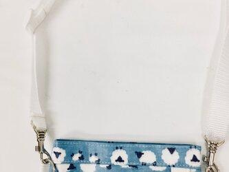 ポケットオーガナイザー 専用ストラップホワイト 長さ調節可能[看護・介護・保育]の画像