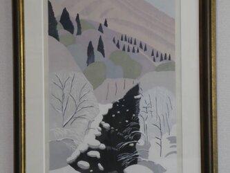 【上野の森 自然を描く展 優秀賞】静かな谷の画像