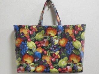BagビニールA4/フルーツたっぷり♪(赤りんご)の画像