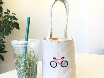 カフェバッグ  自転車の画像