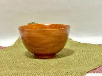 吉野杉の旬のお茶碗の画像