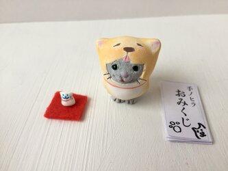 【新春福袋】今年こそ干支になりたい猫さん グレーの画像