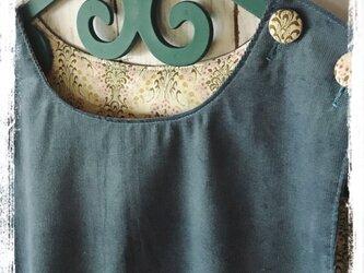 タックワンピース(ブルー)の画像