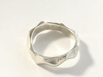 波ナミの指輪(シルバー925)の画像