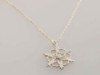 snowflake ネックレス 【FN237】の画像