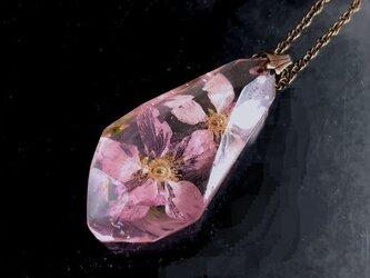 幻想鉱石 桜 ペンダントの画像