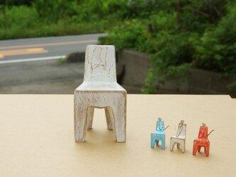 木の椅子 Miniature siroiroの画像