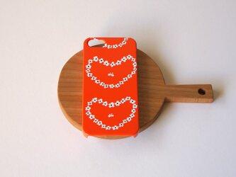 ハード型スマホケース humming heart ( red )【iPhone/Android 各機種対応】の画像