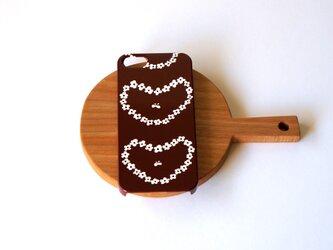 ハード型スマホケース humming heart ( brown )【iPhone/Android 各機種対応】の画像