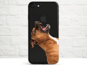 The Apple is Mine, Staffordshire Bull Terrier クリアソフト ケースの画像