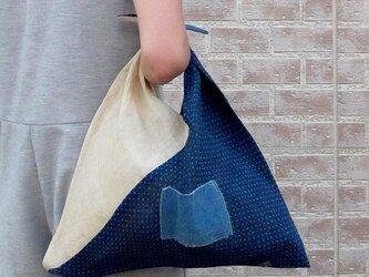 麻古布のあづま袋の画像
