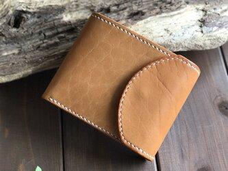 お札が取り出しやすい三つ折り財布の画像