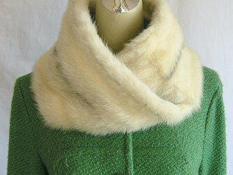 ¶ new antique fur ¶ クロスミンクファーnejiriスヌード「rossi」の画像