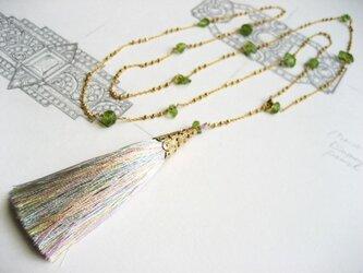 ネックレス「Greener glass -隣の芝-」の画像