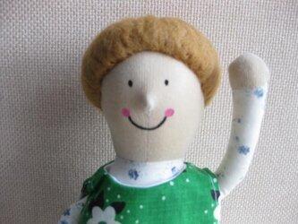 sokkoちゃん(座り姿)※手を上げているタイプの画像