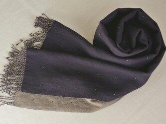 double cloth muffler #8の画像