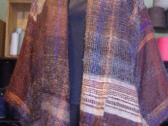 さをり織り ショートコート 5の画像