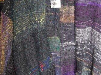 さをり織り ショートコート 2の画像