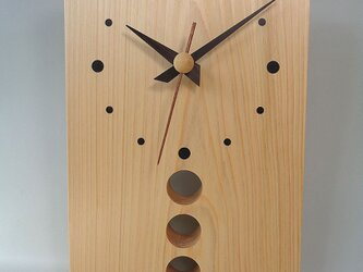 ひのきのかけ時計の画像