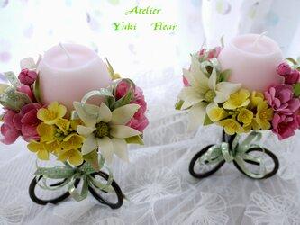 ☆クレイフラワー(花のスタンド)☆ の画像