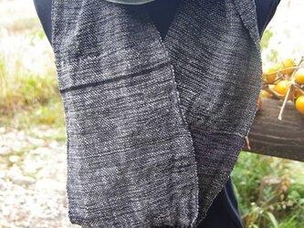 手織り 柔らかスヌードの画像