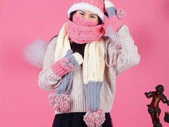 【Lady's】ほっこりあたたか冬四点セット NO:01の画像