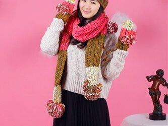 【Lady's】ほっこりあたたか冬三点セット NO:01の画像