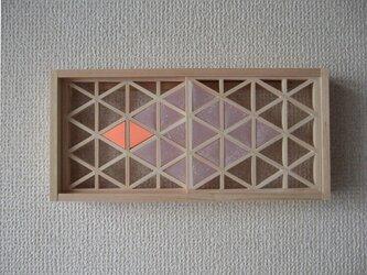 手作り組子細工 組子の小窓 創作デザインの画像
