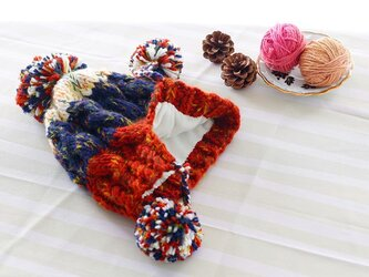 【Lady's】ほっこりあたたか冬帽子 NO:07の画像