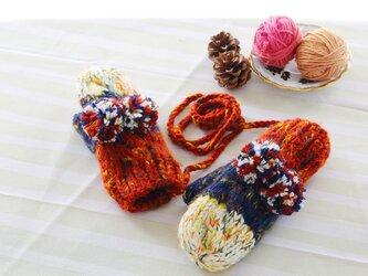 【Lady's】ほっこりあたたか冬手袋 NO:01の画像