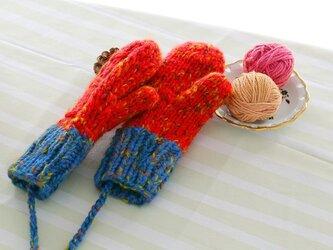 【Lady's】ほっこりあたたか冬手袋 NO:03の画像