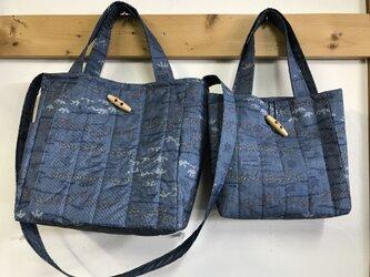 着物で作る*トートバッグ 左 (大)の画像
