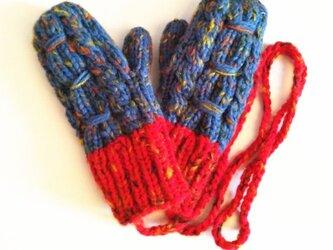 【Lady's】ほっこりあたたか冬手袋 NO:05の画像