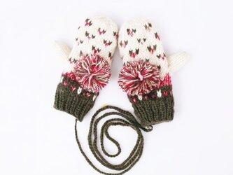 【Lady's】ほっこりあたたか冬手袋 NO:06の画像