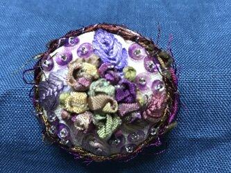 刺繍ブローチ 4の画像