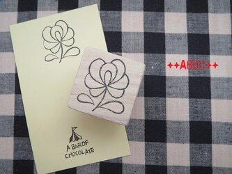 刺繍図案はんこローズ_01の画像