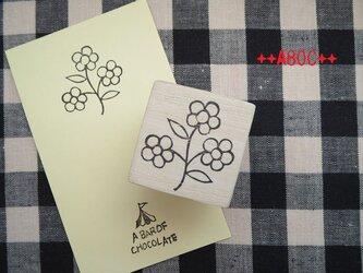 刺繍図案はんこお花_03の画像