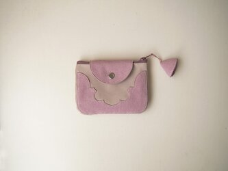 temple coin purse < pink >【 受注生産 】の画像