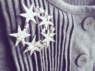 【予約販売12月中旬以降お届け】《冬季限定販売》シャイニーリースブローチ(シルバー)の画像