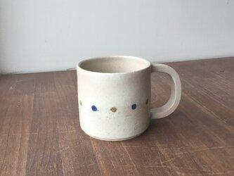 マグカップ さくらんぼ 青の画像