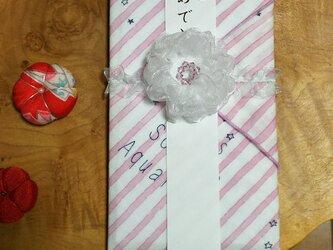 eco♡布で作ったお祝い包みの画像