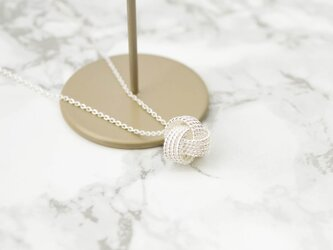 Twist Silver Necklaceの画像