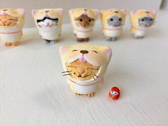 干支になりたい猫さんダルマセットの画像