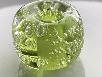 泡玉 黄緑の画像