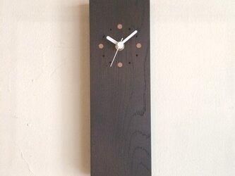 掛け時計 縦型 よのき(サーモウッド)の画像