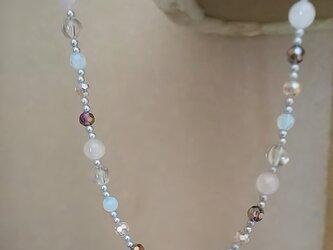 spring優しさ色のネックレスの画像